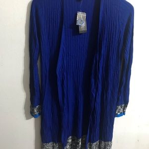 Royal blue beautiful sweater